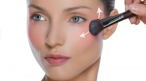 Is there the right way to apply blush