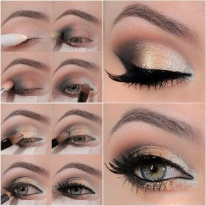 how to apply smokey eye makeup